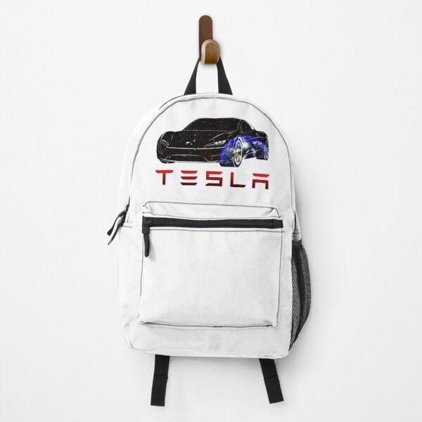 Tesla car Earth Backpack