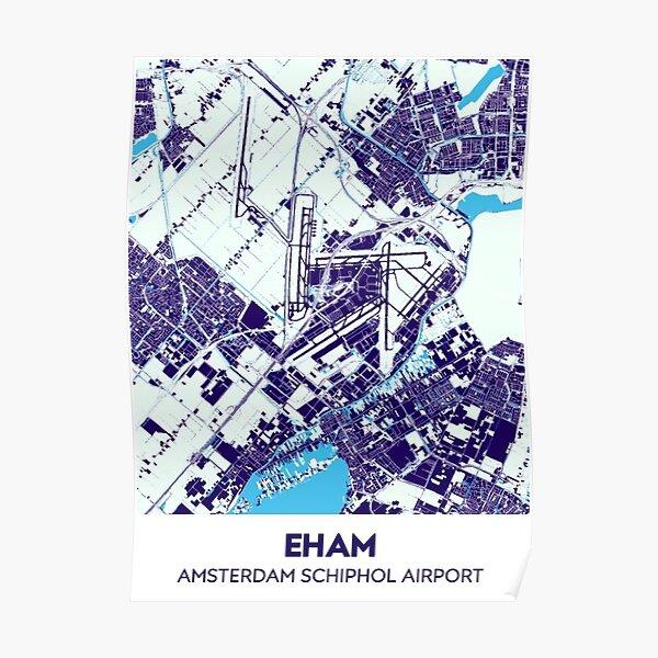 EHAM schiphol Poster