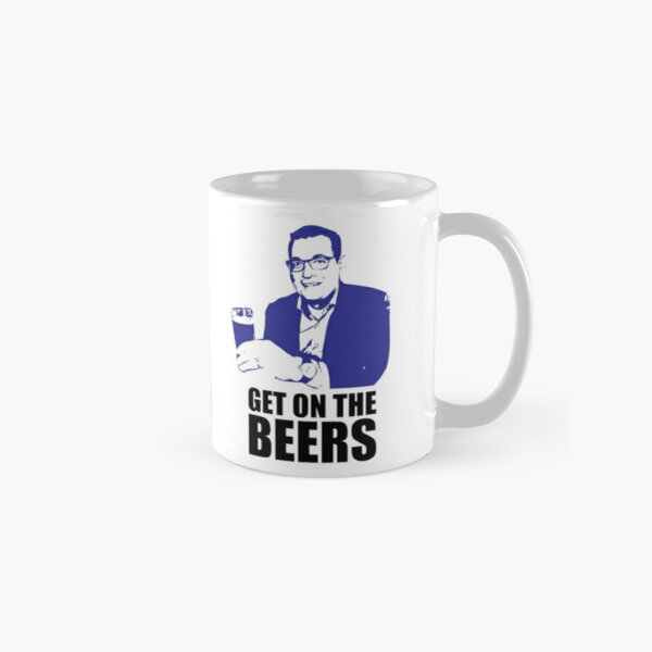 Dan Andrews Get on the Beers Classic Mug