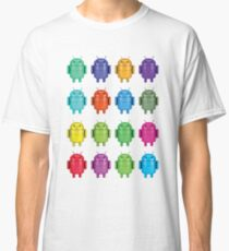 Android Andy Warhol color effect style Classic T-Shirt