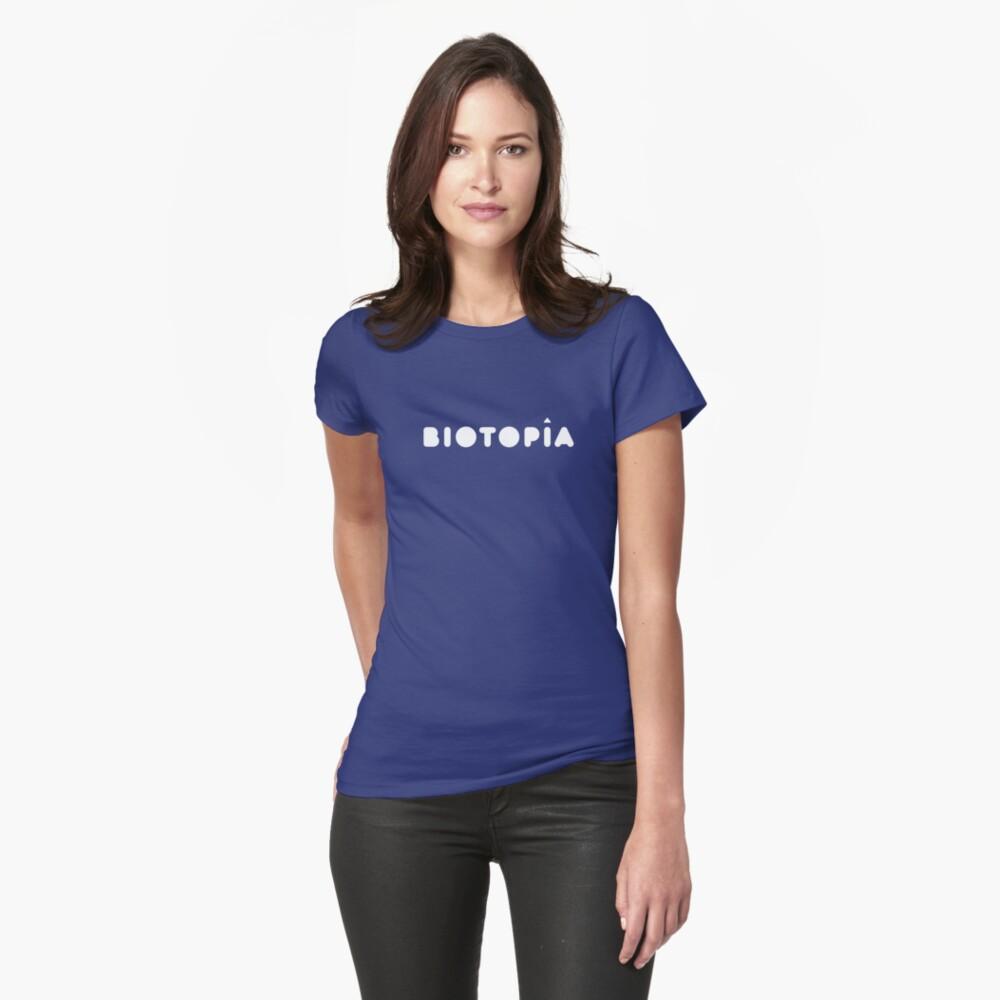 Logo de Biotopía Camiseta entallada