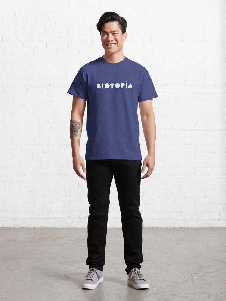 Vista alternativa de Camiseta clásica Logo de Biotopía