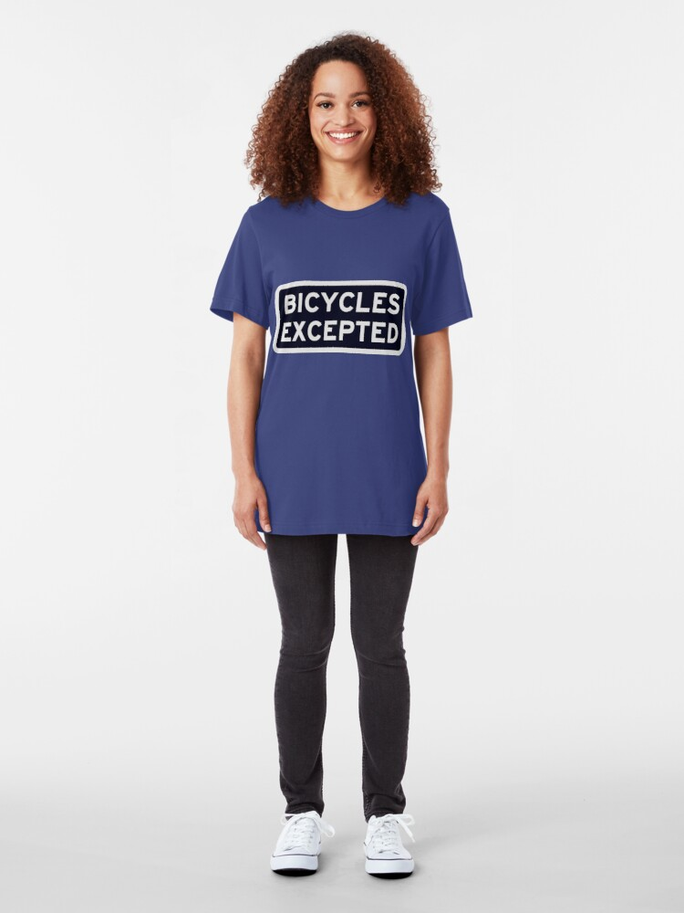 Alternate view of Bicycles Excepted Slim Fit T-Shirt