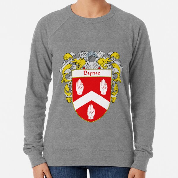 Byrne Coat of Arms/Family Crest Lightweight Sweatshirt