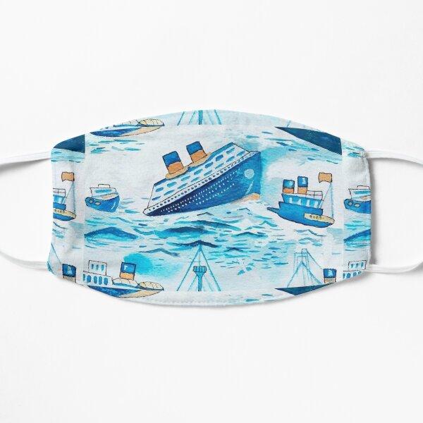 Ferry Boat Scrub Cap  Mask