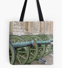 Canons of Tower of London Tote Bag