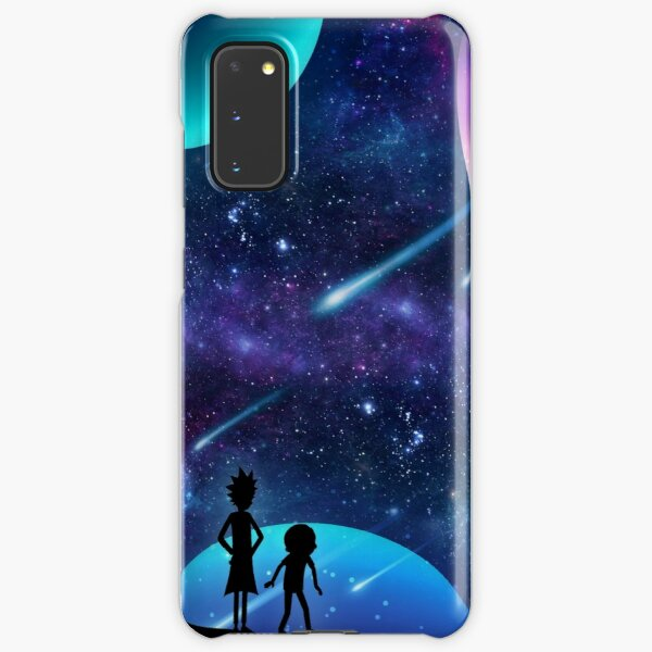 Rick and Morty Galaxy Space Star Gazing Samsung Galaxy Snap Case