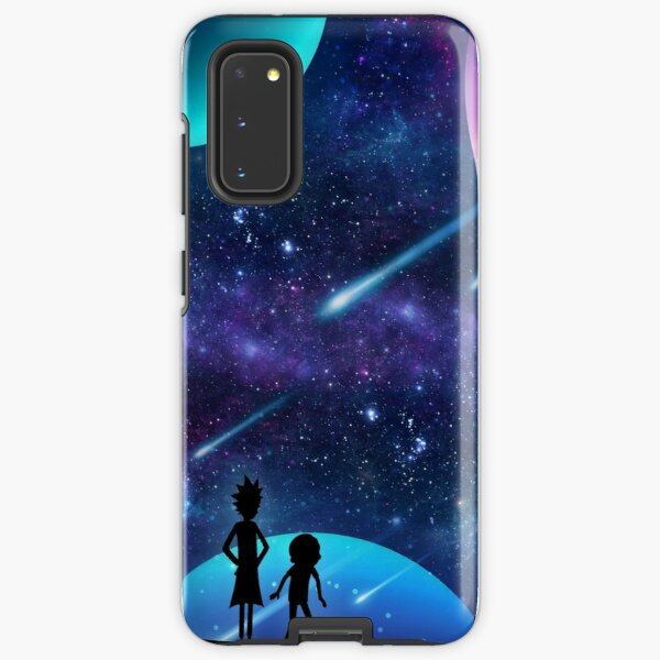 Rick and Morty Galaxy Space Star Gazing Samsung Galaxy Tough Case
