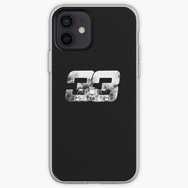 Dessin animé de Max Verstappen F1 Coque souple iPhone