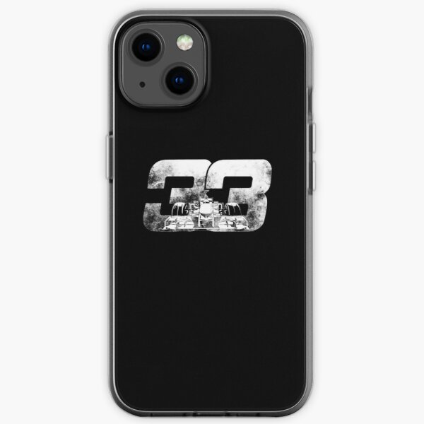 Max Verstappen F1 Cartoon iPhone Flexible Hülle
