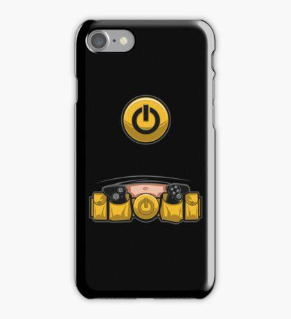 Super Geek Utility Belt iPhone Case/Skin