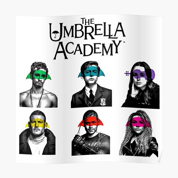 Miembros de The Umbrella Academy Póster