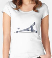 I Fell Tower Women's Fitted Scoop T-Shirt