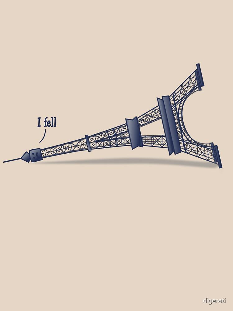 I Fell Tower by digerati