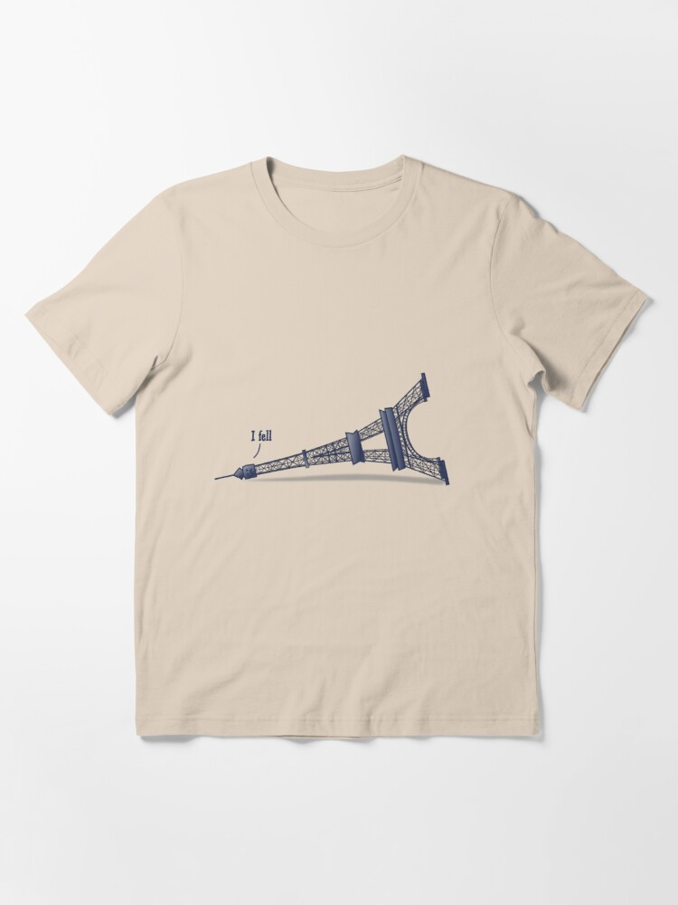 Alternate view of I Fell Tower Essential T-Shirt