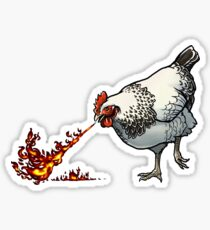 FLAMEHEN Sticker