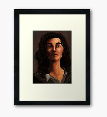 Sirius Black Portrait Framed Print