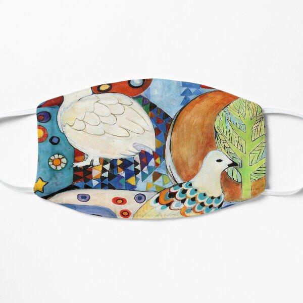 Plumage, Ptarmigan Art Flat Mask