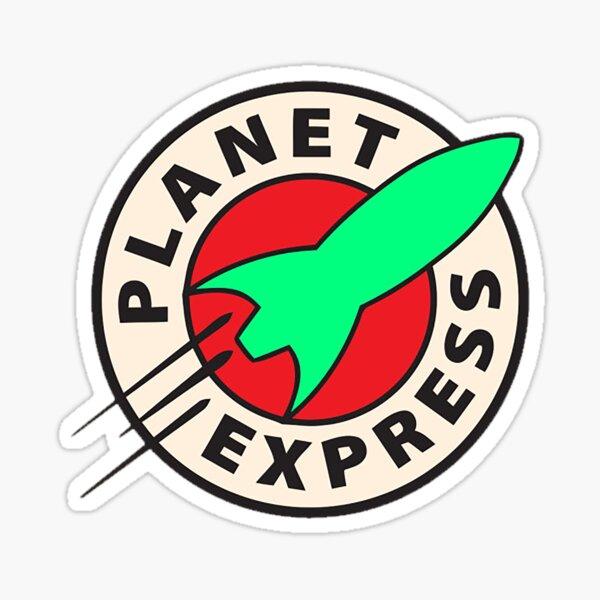 Old Bessie Planet Express Sticker