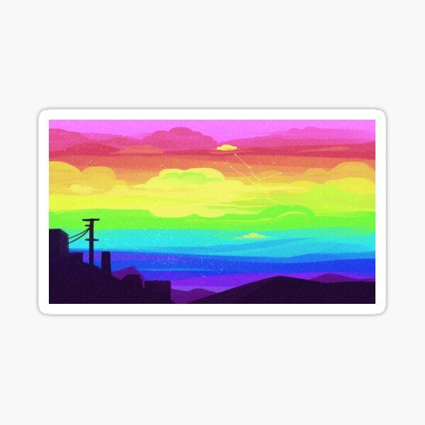 Pride Skies (Gay 2) Sticker