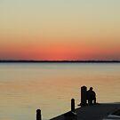 Evening Fishing  by Shelby  Stalnaker Bortone