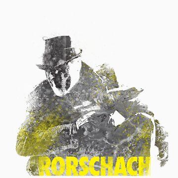 Rorschach Watchmen by sammya89