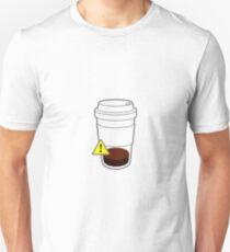Warning coffee low Unisex T-Shirt