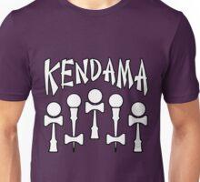 Kendama x5, white Unisex T-Shirt