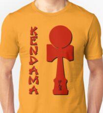 Kendama, EnglishJapanese, red Slim Fit T-Shirt