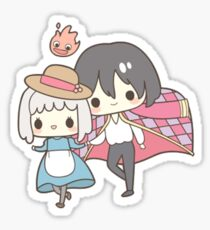 Howls Moving Castle - Studio Ghibli Sticker