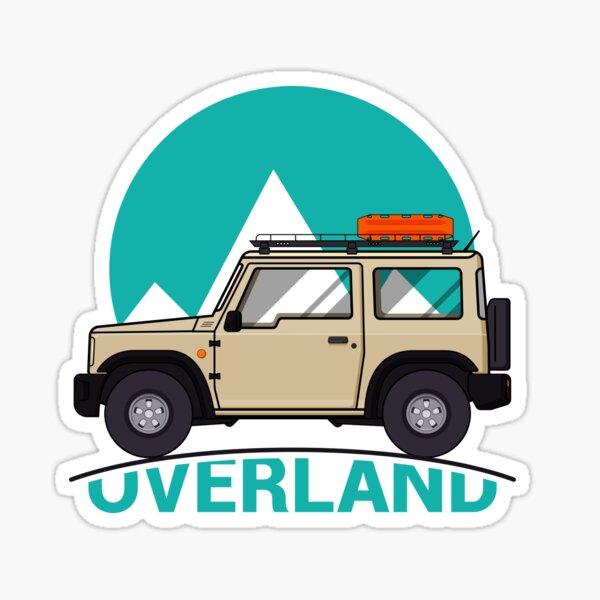 Jimny Overland Sticker