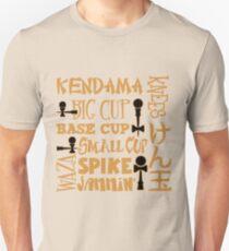 Kendama Block, gold Slim Fit T-Shirt