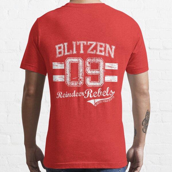 Blitzen Reindeer Rebel Essential T-Shirt