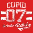 Cupid Reindeer Rebel by Jesse Cain
