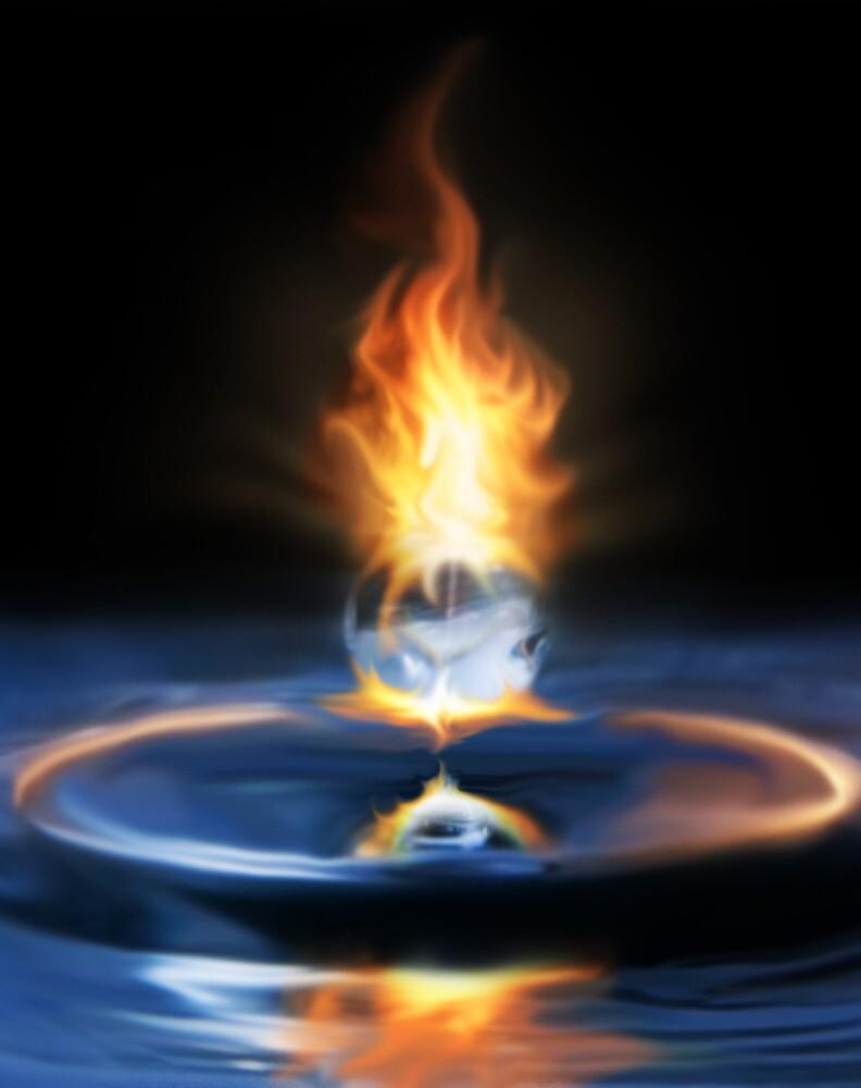 Fire Drop by Cliff Vestergaard