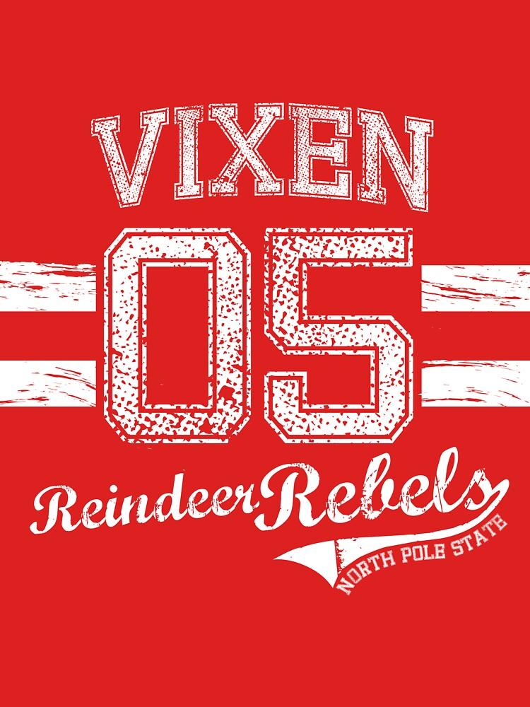 Vixen Reindeer Rebel by jessecain
