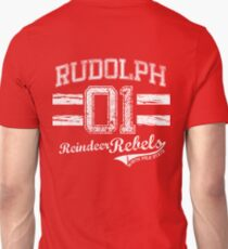 Rudolph Reindeer Rebel T-Shirt