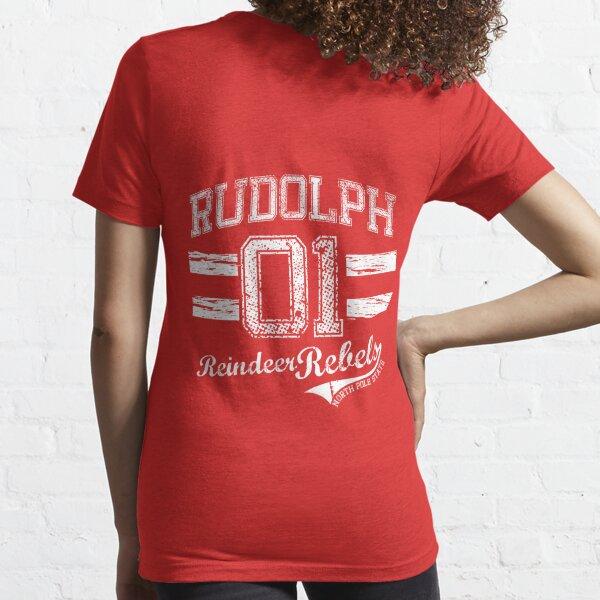 Rudolph Reindeer Rebel Essential T-Shirt