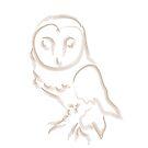 Gemma's Owl by zayn ross