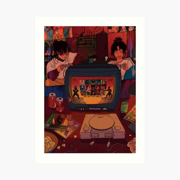 game night - zuko & azula Art Print