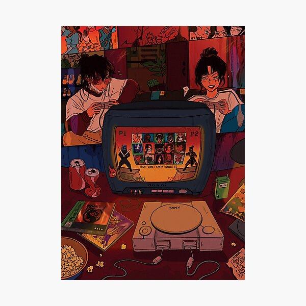 game night - zuko & azula Photographic Print
