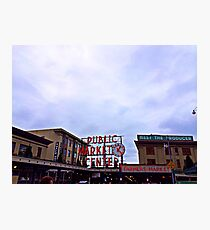 Pike Place Market Photographic Print
