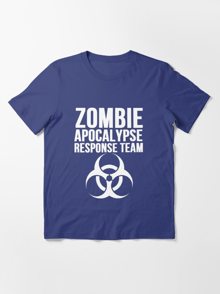 Alternate view of CDC Zombie Apocalypse Response Team Essential T-Shirt