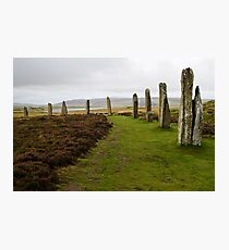 Ring of Brodgar Photographic Print