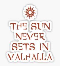 Daytime in Valhalla Sticker