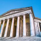 Jefferson Memorial Sunset by Ray Warren