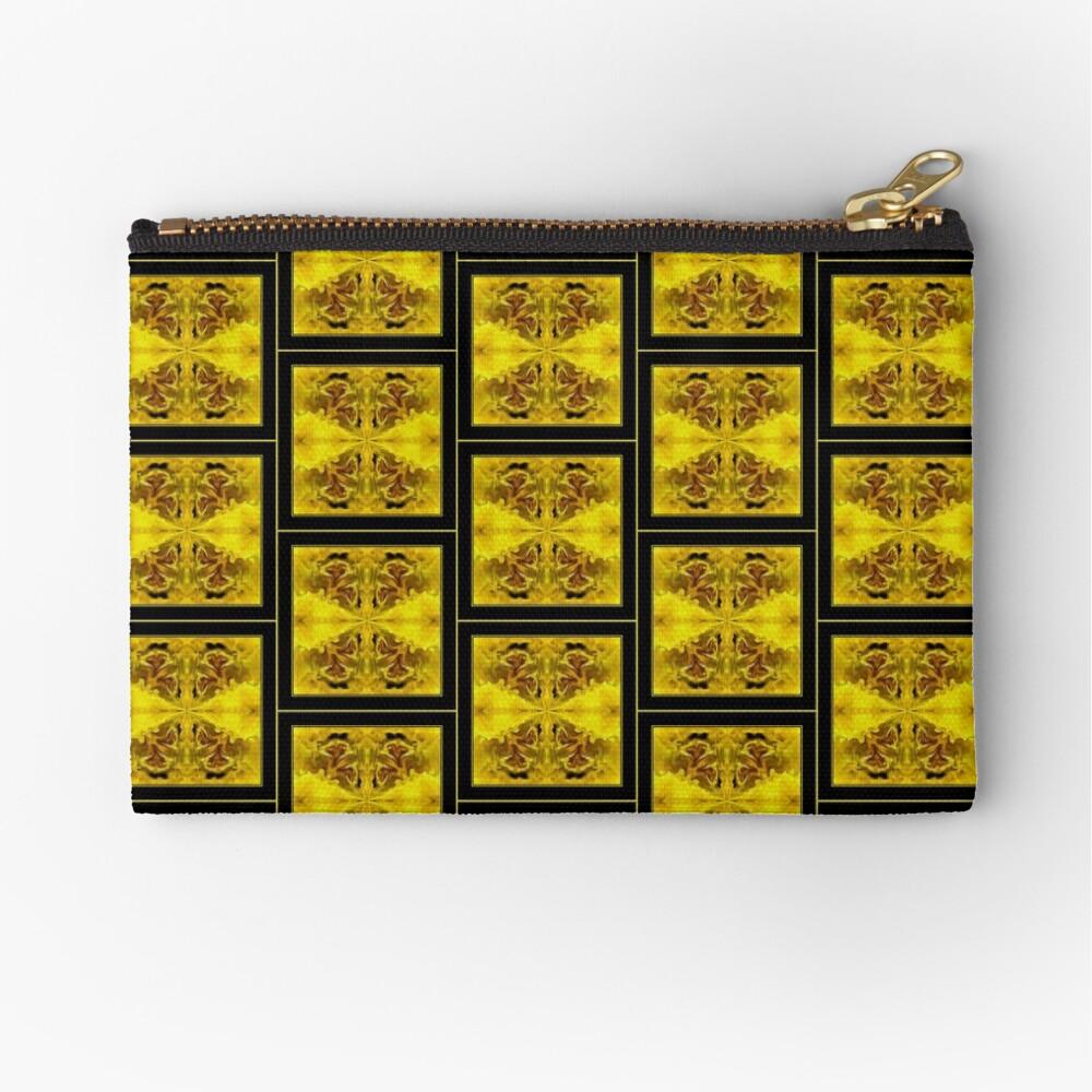 The Golden Shawl Zipper Pouch