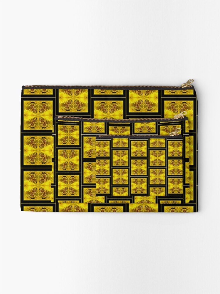 Alternate view of The Golden Shawl Zipper Pouch