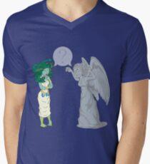 Medusa VS Angel Men's V-Neck T-Shirt