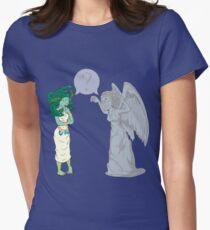 Medusa VS Angel Women's Fitted T-Shirt